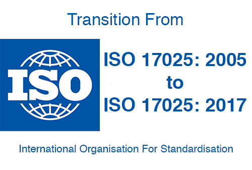 Accreditation transition ISO 17025:2017